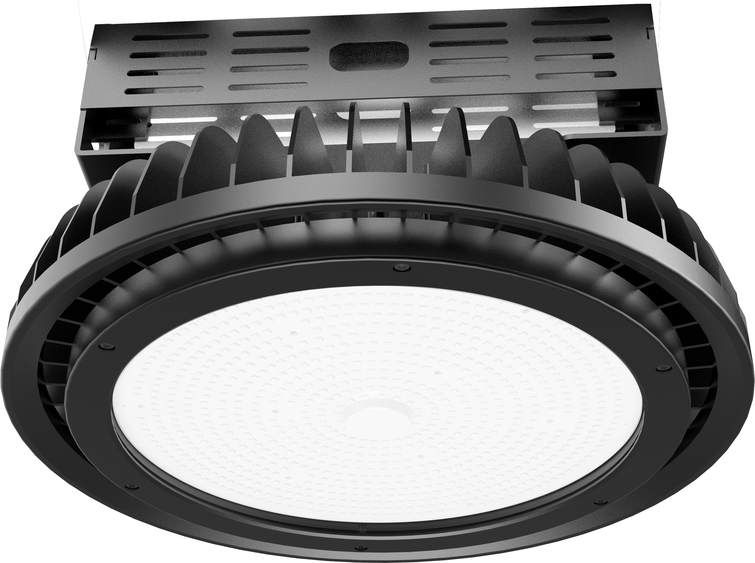 SportHB Circular High Bay for high ceiling sports applications